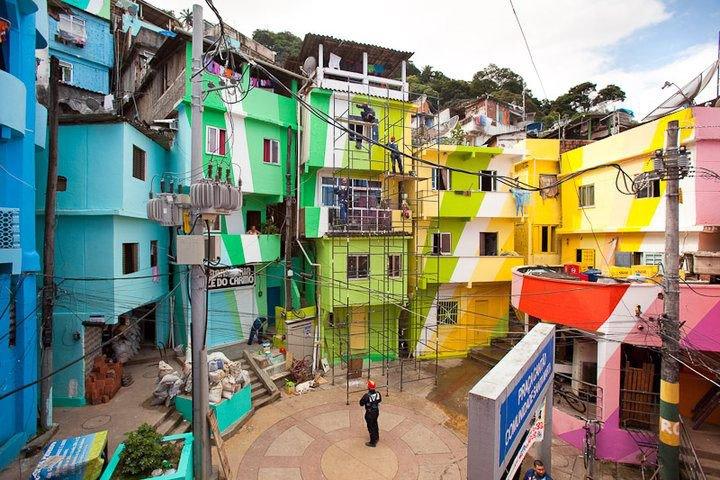 Favelas Regeneration for a better living environment.