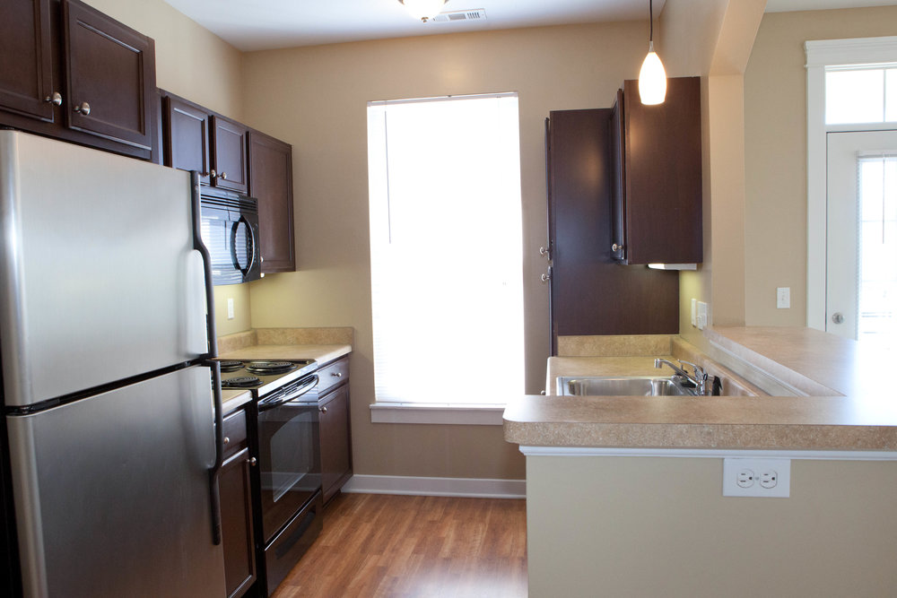 City Flats at Renwick - model kitchen 2 (apartment).JPG