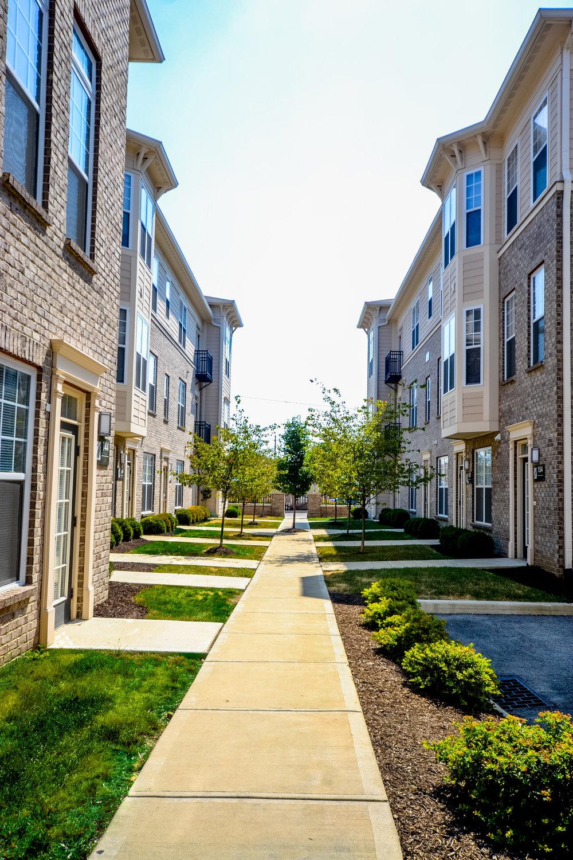 3 Downtown Indianapolis Apartments The Waverley pretty sidewalk .jpg