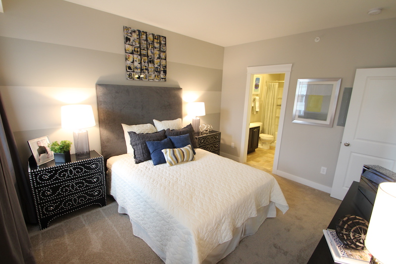 Highpointe - Model bedroom 2 (apartment).JPG
