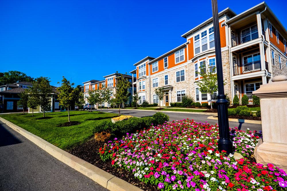 Apartments Indianapolis City Flats orange building.jpg