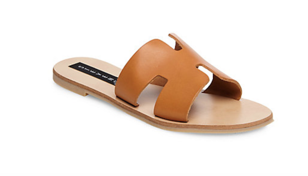 $79.95 - Greece Sandal / Steve Madden - color: Cognac Leather