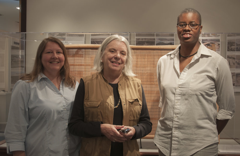 Our hosts (left to right): Virginia Howell, Teri Williams, and Jerushia Graham.