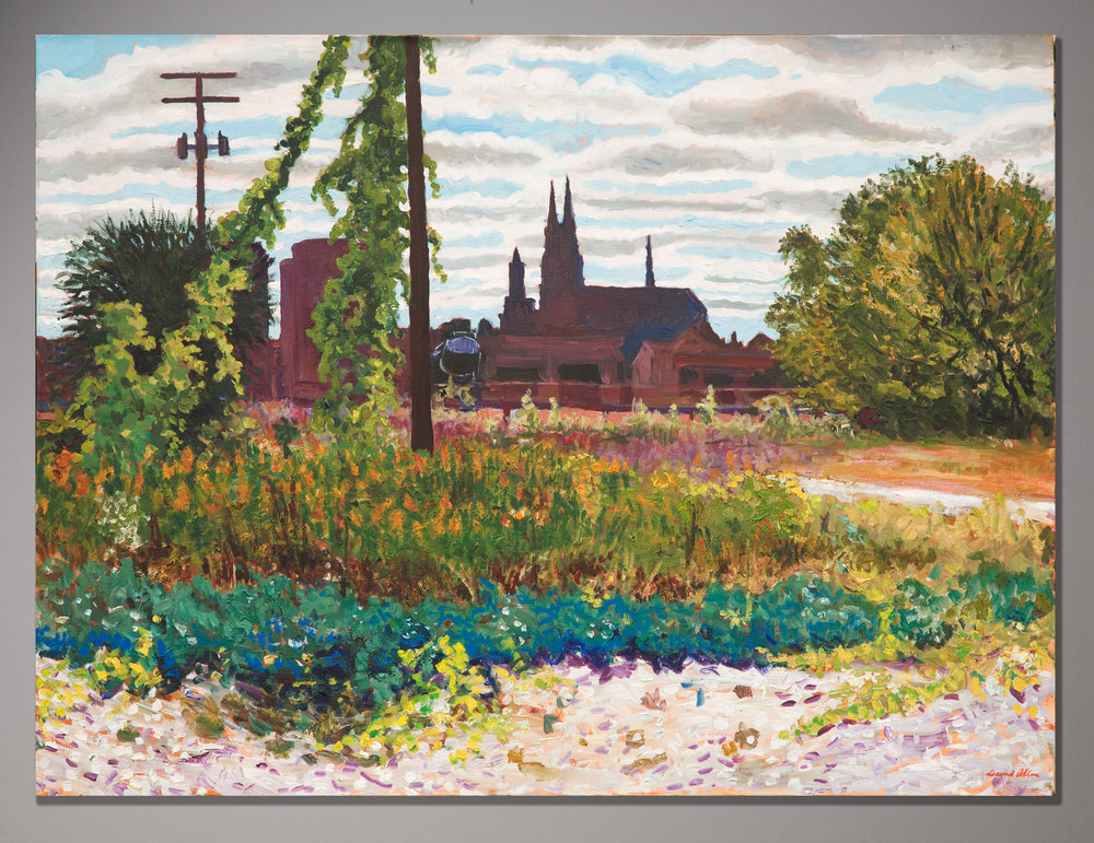 """Distant View, St. Adalbert's"""