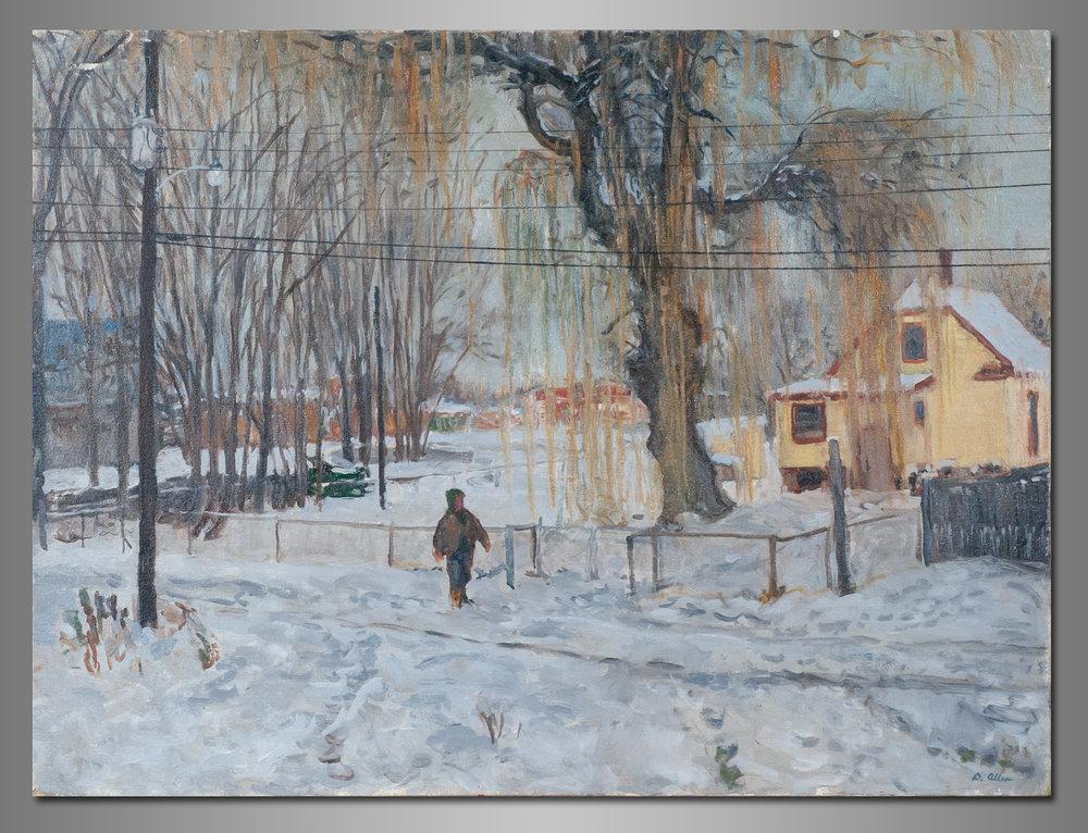 """Winter Alley"""