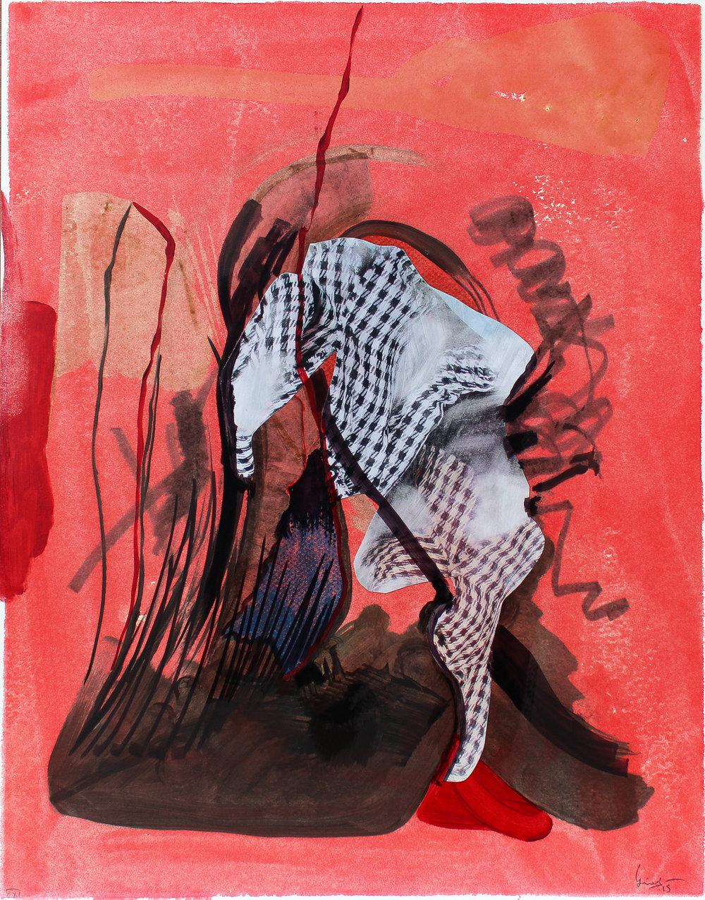 Untitled (detail) | Collage Series   |  ©  Lino Martinez