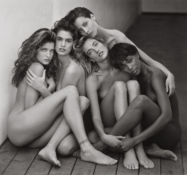Herb Ritts - supermodels