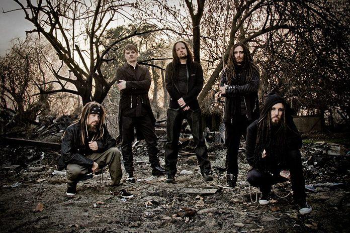 Korn's current lineup is Reginald Arvizu, Ray Luzier, Jonathan Davis, James Shaffer and Brian Welch. Photo: Sébastien Paquet (CC-BY-SA 3.0)