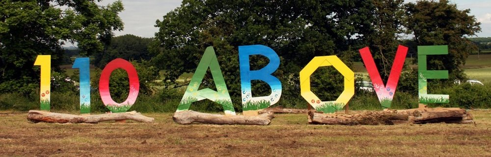 110 Above Festival takes place at Gopsall Hall Farm, near Atherstone, Warwickshire. Photo: Gig Antic
