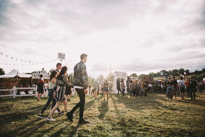 Standon Calling takes place in the Hertfordshire countryside in July. Photo: Sean Hood