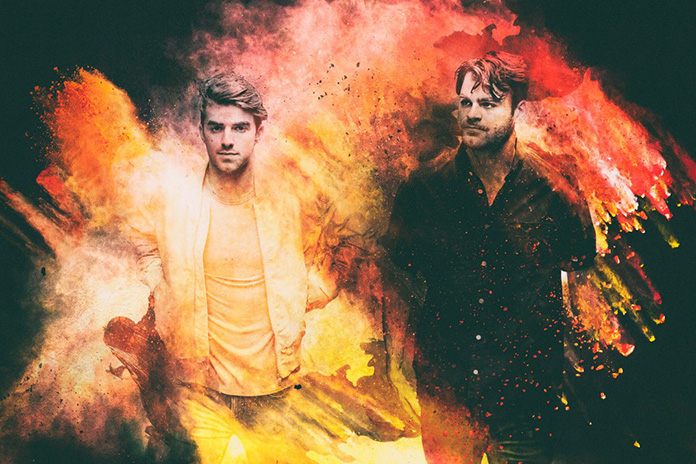 Electronic hitmakers The Chainsmokers are one of the mainstream acts at this year's Rock Werchter