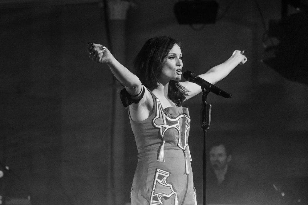 SOPHIE ELLIS-BEXTOR - EDINBUGH QUEEN'S HALL | PICTURE: CALUM BUCHAN PHOTOGRAPHY