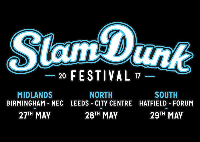 Slam Dunk 2017 takes place between 27-29 May, with Enter Shikari headlining on all three dates.