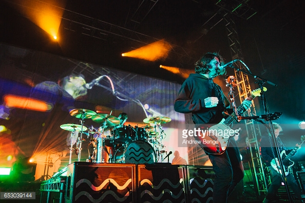 LOWER THAN ATLANTIS PERFORMING AT O2 ACADEMY LEEDS PICTURE BY: - ANDREW BENGE (GETTY IMAGES)