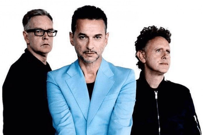 Depeche Mode are Dave Gahan, Martin Gore and Andy Fletcher