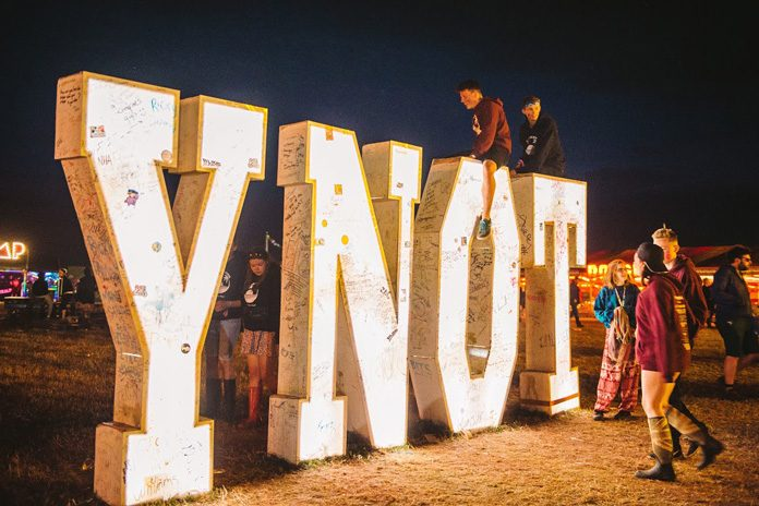 Y Not Festival takes place in Derbyshire from 27-30 July 2017