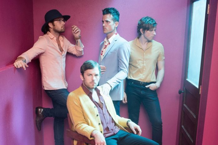 Kings Of Leon topped the UK Album Chart with WALLS in 2016