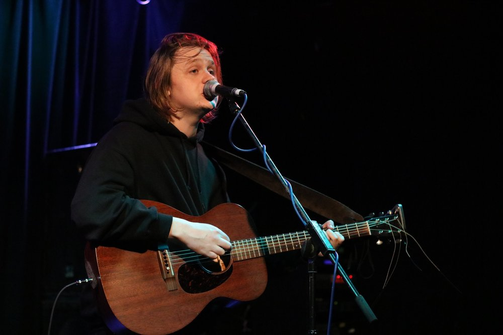 LEWIS CAPALDI PERFORMING AT ABERDEEN'S TUNNELS - 12/04/2017  PICTURE BY: COREY MCKAY PHOTOGRAPHY
