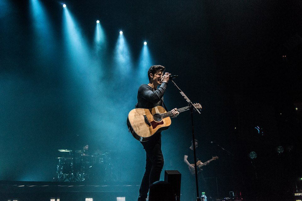 SHAWN MENDES - PERFORMING AT GLASGOW'S SSE HYDRO - 27/04/2017 ILLUMINATE WORLD TOUR   PICTURE BY: CALUM BUCHAN PHOTOGRAPHY