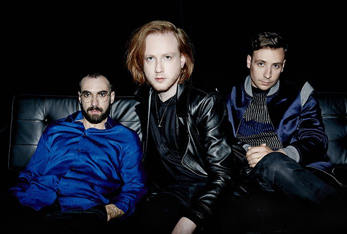 Two Door Cinema Club are Alex Trimble, Kevin Baird and Sam Halliday