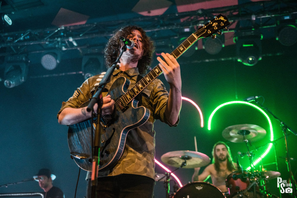 THE VIEW PERFORMING AT GLASGOW'S BARROWLANDS - 04/05/2017  PICTURE BY: PAUL STORR PHOTOGRAPHY