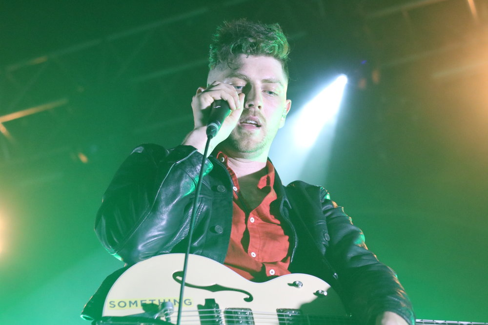 TWIN ATLANTIC - PERFORMING AT INVERNESS'S IRONWORKS - 19/04/2017