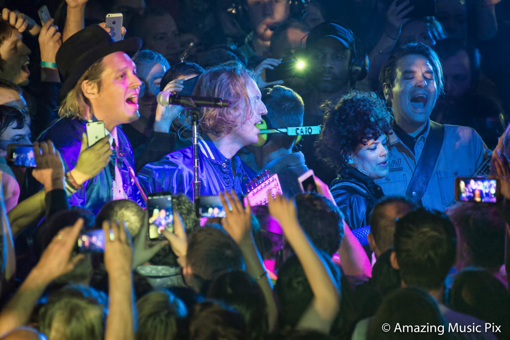 ARCADE FIRE PERFORMING AT EDINBURGH'S CORN EXCHANGE - 08/06/2017  PICTURE BY: STUART WESTWOOD PHOTOGRAPHY