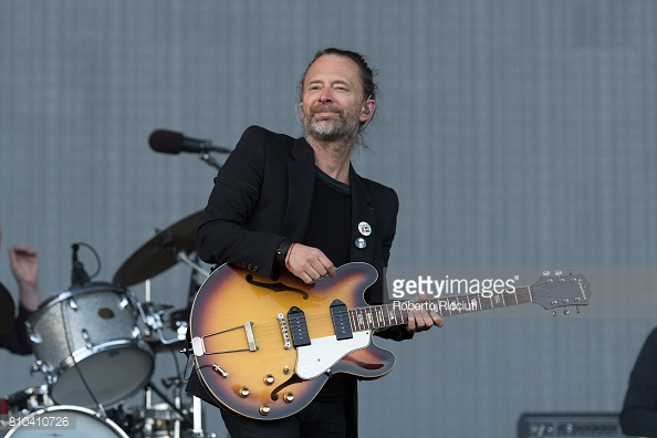 RADIOHEAD PERFORMING TRNSMT FEST 2017 IN GLASGOW - 07/07/2017  PICTURE BY: ROBERTO RICCIUTI - GETTY IMAGES
