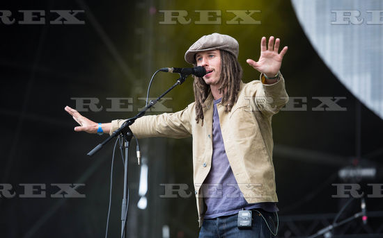 JP COOPER PERFORMING AT TRNMST FEST 2017 IN GLASGOW - 07/07/2017 PICTURE BY: Duncan Bryceland - REX/Shutterstock