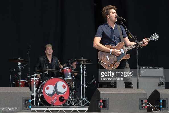 CIRCA WAVES PERFORMING TRNSMT FEST 2017 IN GLASGOW - 08/07/2017  PICTURE BY: ROBERTO RICCIUTI - GETTY IMAGES