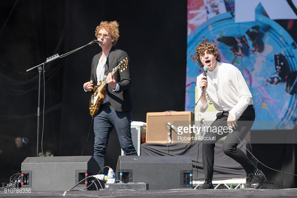 THE KOOKS PERFORMING TRNSMT FEST 2017 IN GLASGOW - 08/07/2017  PICTURE BY: ROBERTO RICCIUTI - GETTY IMAGES