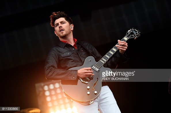 TWIN ATLANTIC PERFORMING TRNSMT FEST 2017 IN GLASGOW - 09/07/2017  PICTURE BY: ANDY BUCHANAN - GETTY IMAGES