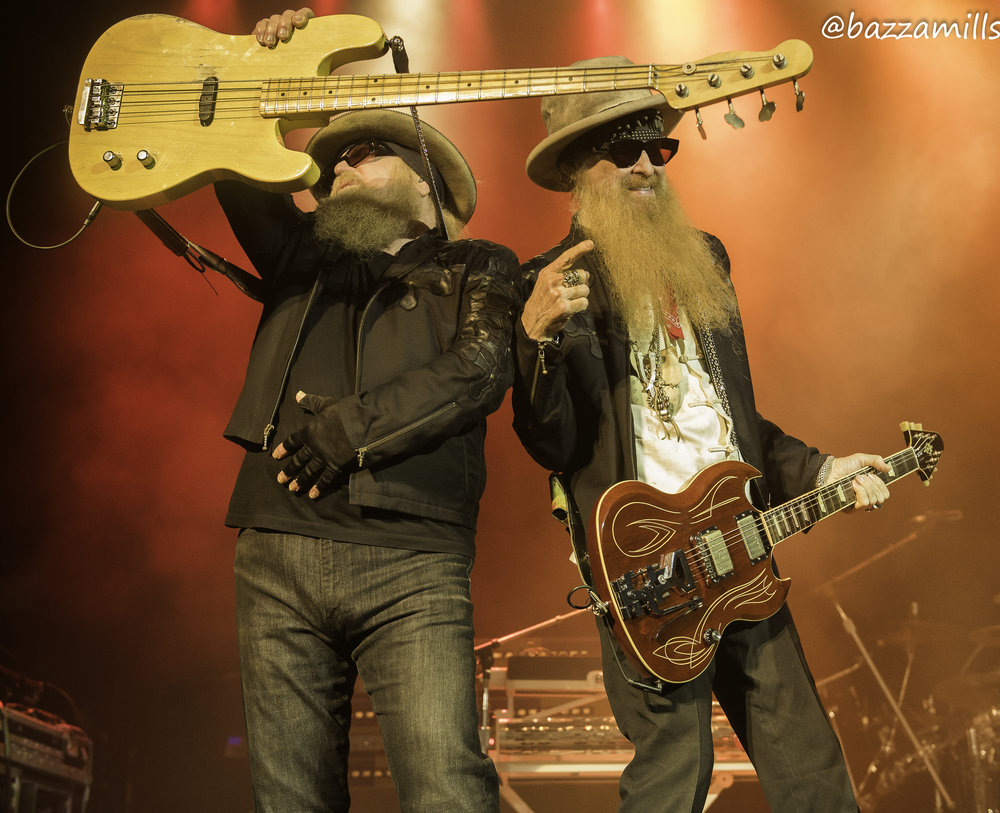 ZZ TOP PERFORMING AT GLASGOW'S O2 ACADEMY - 26/07/2017  PICTURE BY: BAZZA MILLS PHOTOGRAPHY