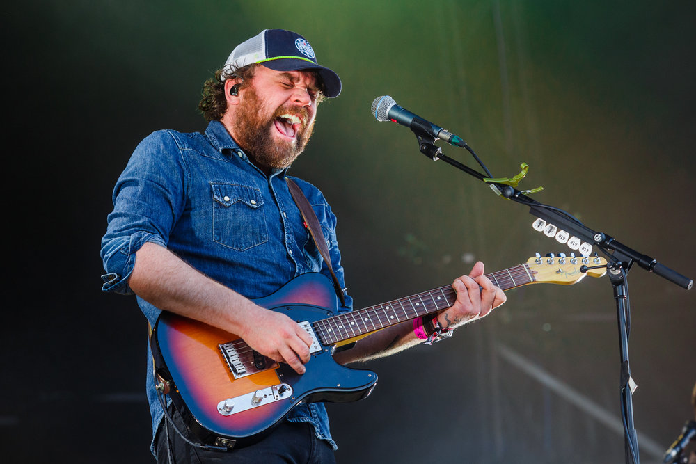 FRIGHTENED RABBIT PLAYING MAIN STAGE AT KENDAL CALLING 2017 - 27/07/2017  PICTURE BY: JODY HARTLEY
