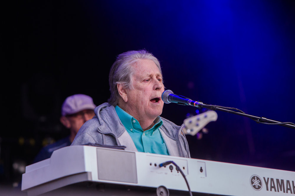 BRIAN WILSON PERFORMING AT KENDAL CALLING ON THE MAIN STAGE - 29/07/2017
