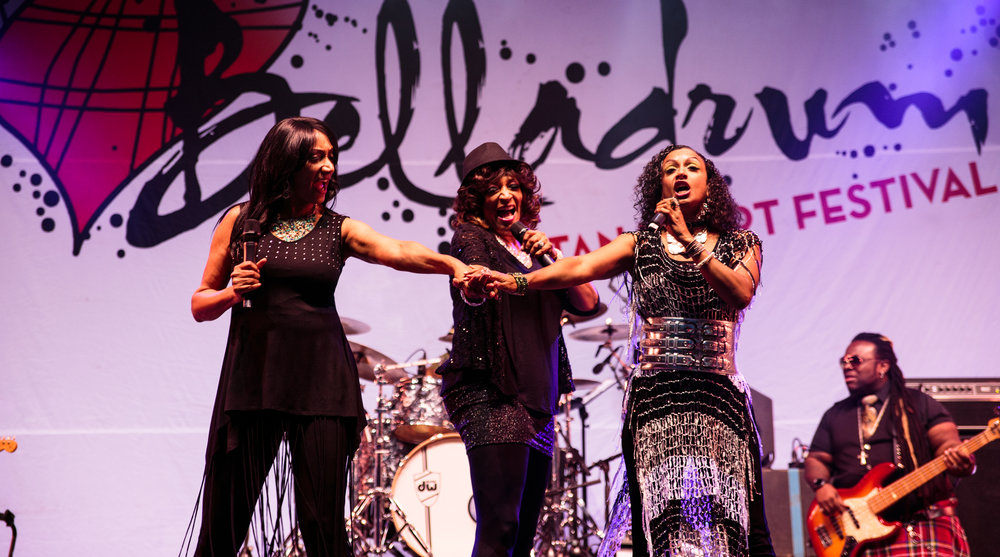 SISTER SLEDGE HEADLINING THURSDAY NIGHT AT BELLADRUM TARTAN HEART FESTIVAL 2017 - 03/08/2017  PICTURE BY: FINDLAY MACDONALD PHOTOGRAPHY