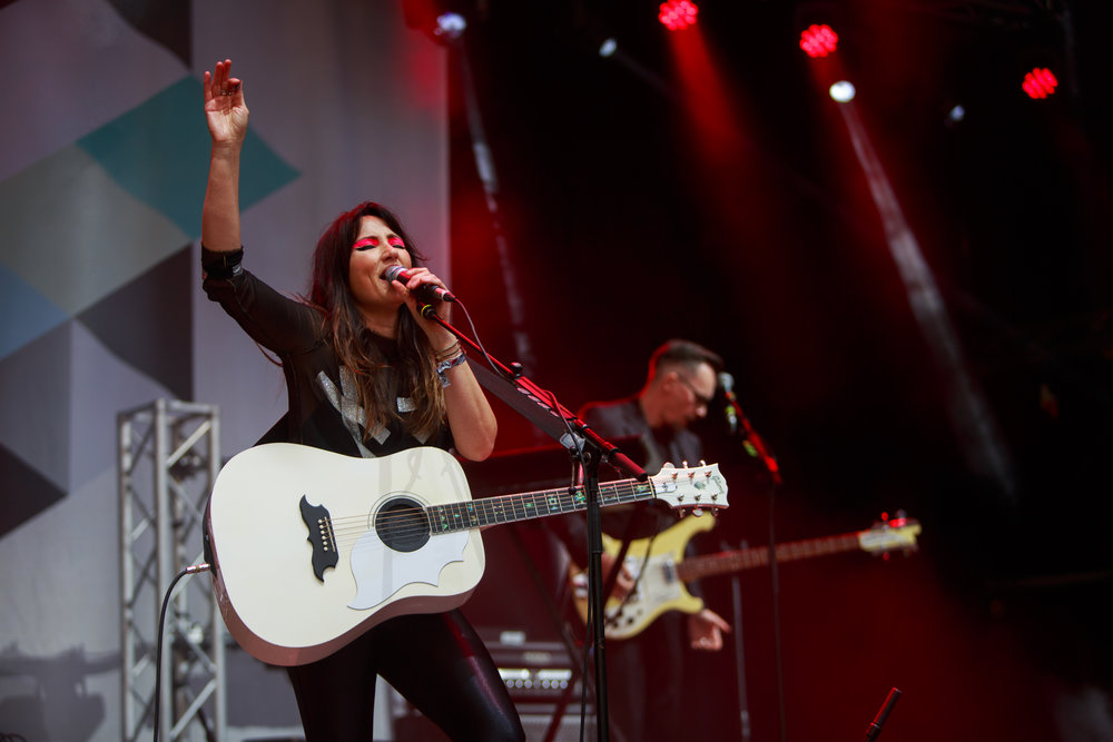 KT TUNSTALL PERFORMING AT BELLADRUM TARTAN HEART FESTIVAL 2017 - 05/08/2017  PICTURE BY: FINDLAY MACDONALD PHOTOGRAPHY