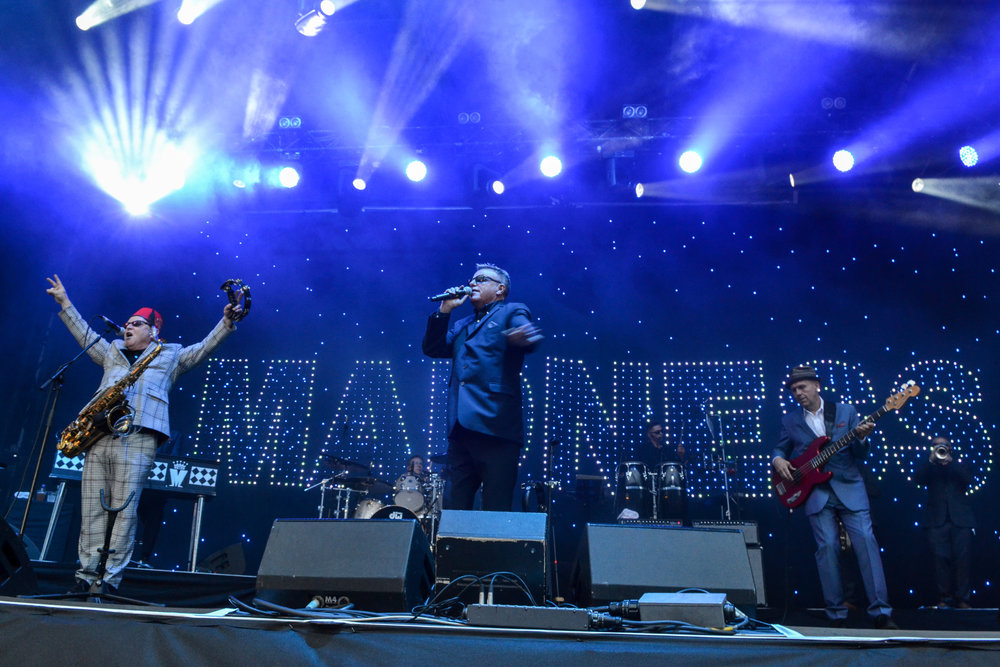 MADNESS PERFORMING AT FALKIRK STADIUM, FALKIRK - 04/08/2017  PICTURE BY: LEANNA TANNER PHOTOGRAPHY