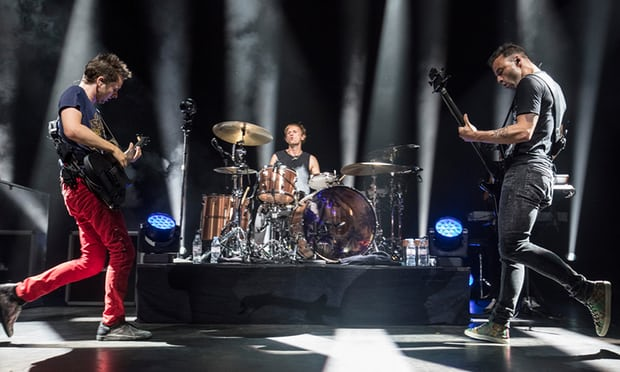 """MUSE PERFORMING AT O2 SHEPHERDS BUSH EMPIRE ON BEHALF OF """"THE PASSAGE"""" - 19/08/2017  PICTURE BY: HANZ-PETER VAN VELTHOVEN"""