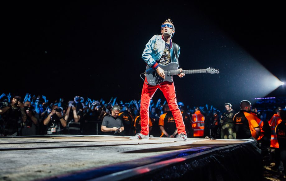 MUSE HEADLINING LEEDS FESTIVAL 2017 - 25/08/2017  PICTURE BY: ANDY FORD - NME MAGAZINE