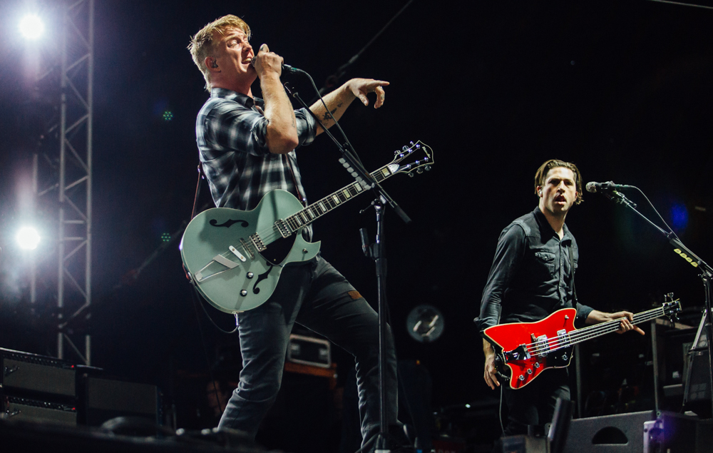 QUEEN OF THE STONE AGE PERFORMING AT LEEDS FESTIVAL 2017 - 25/07/2017  PICTURE BY: ANDY FORD - NME MAGAZINE