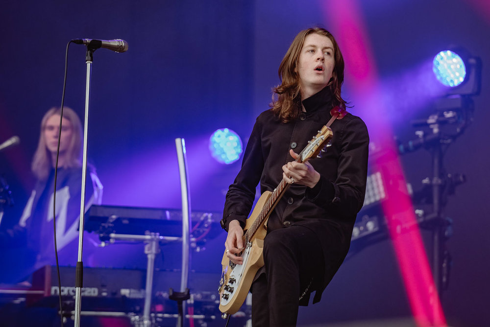 BLOSSOMS PERFORMING AT LEEDS FESTIVAL 2017 - 25/08/2017  PICTURE BY: BEN BENTLEY