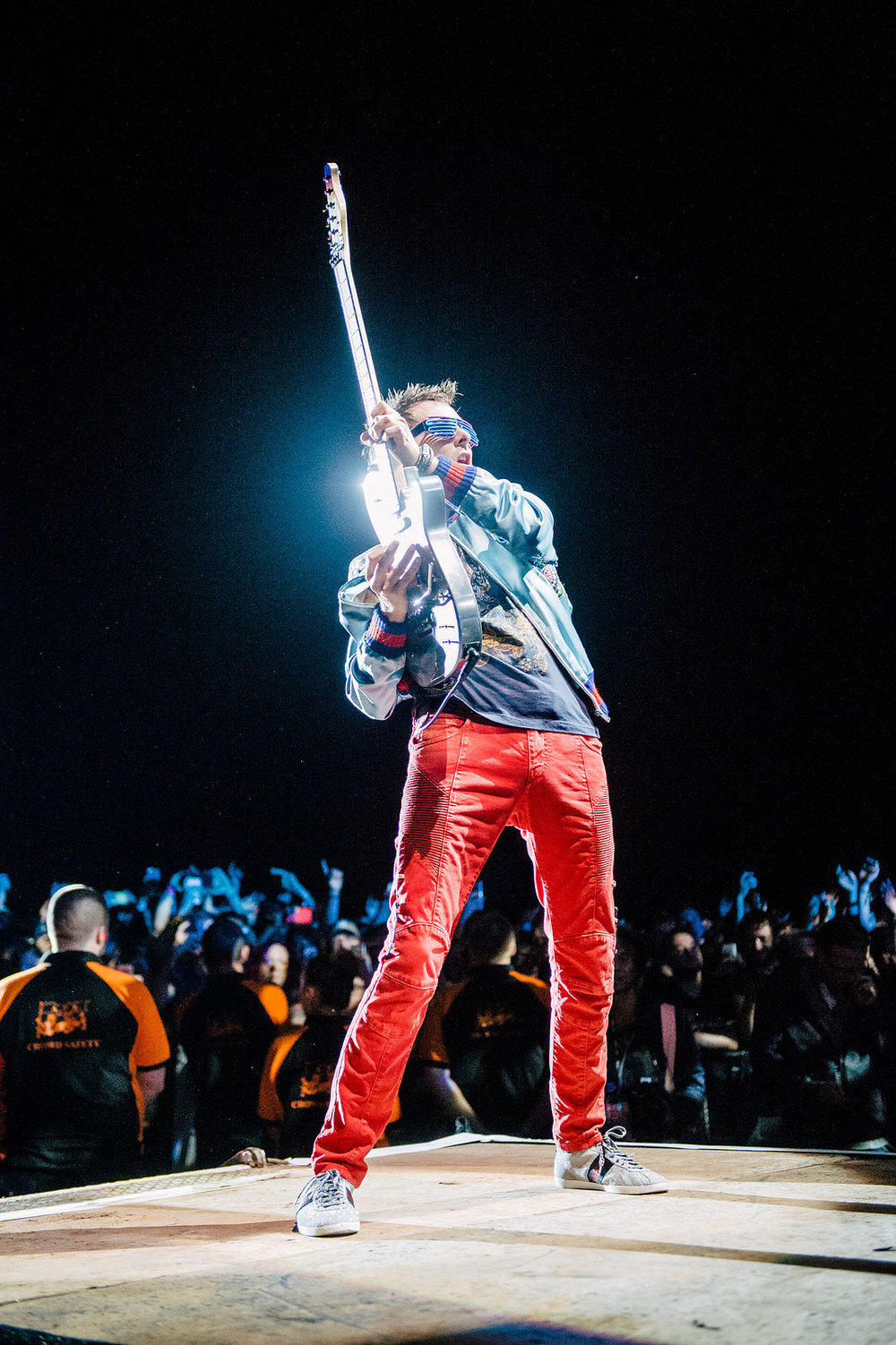 MUSE HEADLINING FRIDAY NIGHT AT LEEDS FESTIVAL 2017 - 25/08/2017  PICTURE BY: MATT EACHUS
