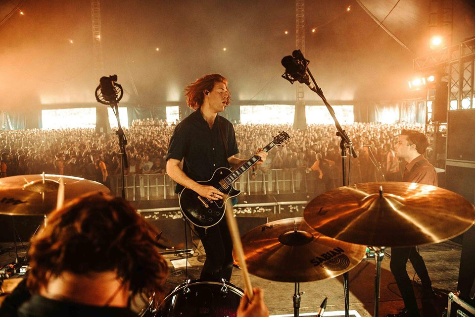 THE AMAZONS PERFORMING ON THE FESTIVAL REPUBLIC STAGE DURING DAY TWO AT LEEDS FESTIVAL 2017 - 26/08/2017  PICTURE BY: SHOT BY PHOX