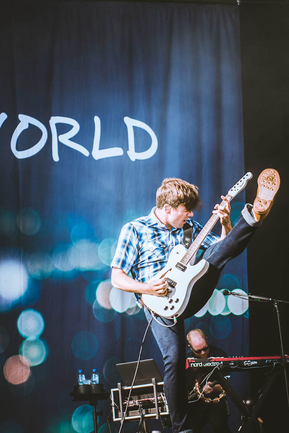 JIMMY EAT WORLD PERFORMING AT LEEDS FESTIVAL 2017 - 26/08/2017  PICTURE BY: Sarah Koury - Entirety Labs