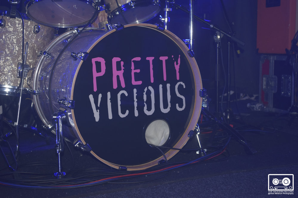 PRETTY VICIOUS PERFORMING AT GLASGOW'S KING TUT'S WAH WAH HUT - 05/10/2017  PICTURE BY: OWEN MELDRUM PHOTOGRAPHY
