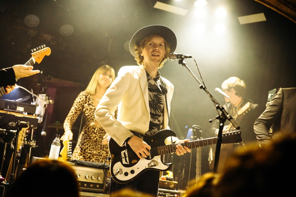 Beck to the future: the pop maestro takes Camden by storm Dawbell