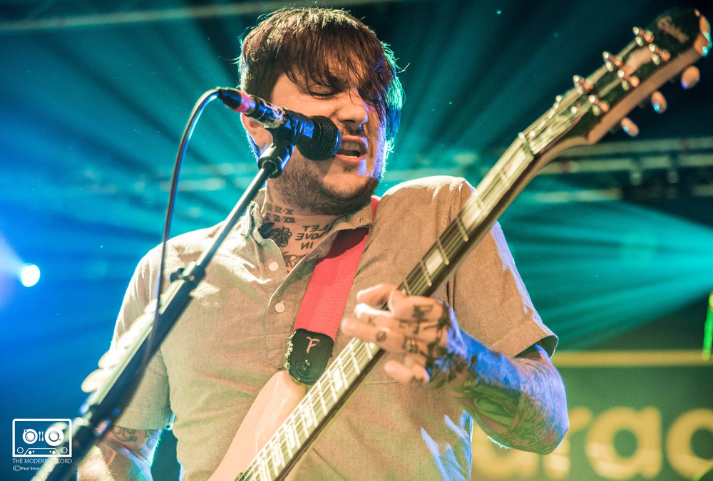 FRANK IERO AND THE PATIENCE PERFORMING AT THE GARAGE, GLASGOW - 13/10/2017  PICTURE BY: PAUL STORR PHOTOGRAPHY
