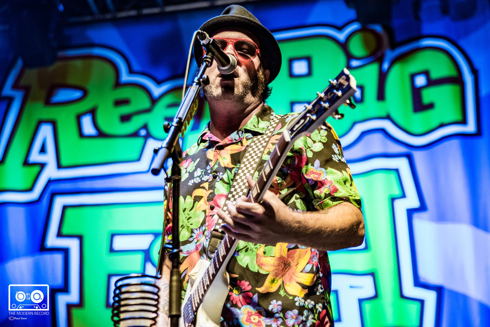 REEL BIG FISH PERFORMING AT O2 ACADEMY, GLASGOW - 19/10/2017  PICTURE BY: PAUL STORR PHOTOGRAPHY
