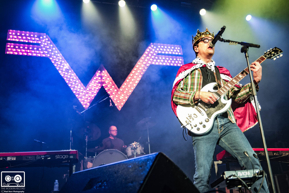 WEEZER PERFORMING AT O2 ACADEMY, GLASGOW - 24/10/2017  PICTURE BY: PAUL STORR PHOTOGRAPHY
